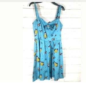 Disney Dresses - HOT TOPIC DISNEY BELLE SUNDRESS